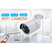 1.3MP Wi Fi IP камера цилиндрическая уличная, пластиковая HD 960P P2P