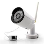 1MP Wi-Fi IP камера цилиндрическая уличная, металлическая HD 720P P2P