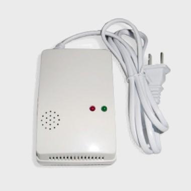 Датчик утечки газа беспроводной, 433Mhz (Автономный детектор утечки газа с сиреной)
