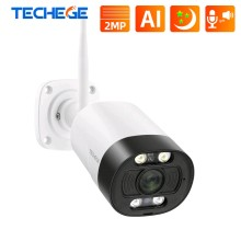 2MP Wi-Fi IP WEB камера цилиндрическая уличная, металлическая HD 1080P P2P
