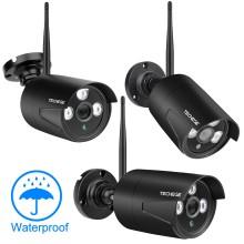 2MP IP WEB камера с Wi-Fi цилиндрическая уличная, металлическая HD 1080P P2P