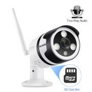 5MP Wi-Fi IP WEB камера цилиндрическая уличная, металлическая P2P