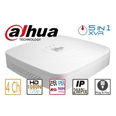 4-канальный HDCVI видеорегистратор XVR4104C-S2