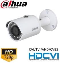 Видеокамера HDCVI цилиндрическая 2 МП 1080p Dahua HAC-HFW1000SP-S3 (2.8 мм)