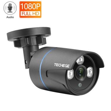 2MP IP WEB камера купольная уличная, металлиеская HD 1080P P2P